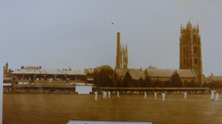 The County Ground in 1902