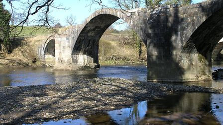 Cromwell Bridge in the Ribble Valley is part of the Tolkien Trail. Photo courtesy of visitlancashir