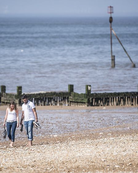 Enjoy the beach at Hunstanton after a visit to the Sealife Sanctuary.