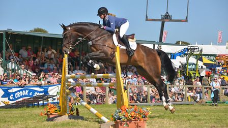 Show jumping is one of the highlights of the County Show