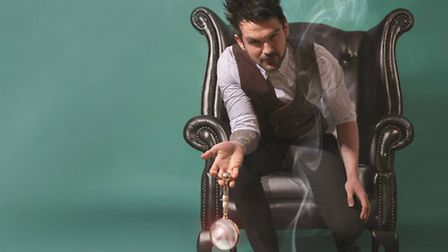 Forensic mind reader Colin Cloud, who will mix mind magic and brain science.