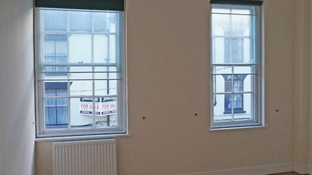 Before; the windows which posed a problem of symmetry for Lanassir to overcome . . .