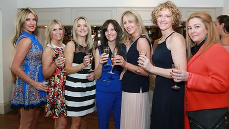 Rachael Kelly, Michelle Harley, Laura Oxton, Carla Middleton, Sue Forster, Jo Sparks and Aishli