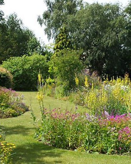 Ringstead Gardens are open for visitors this month
