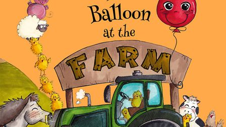 Bertie The Balloon at the Farm. Written by Kim Robinson and illustrated by Aneta Newman