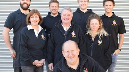 Members of the Brentwood Brewery team