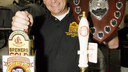 Colin Bocking from Crouch Vale Brewery