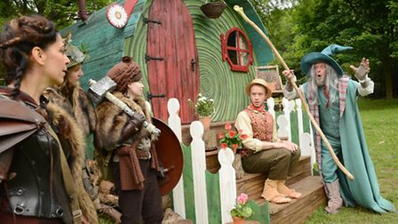 A scene from The Dukes production of The Hobbit which runs from July 5-August 13 in Williamson Park,