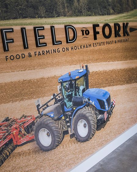Holkham Hall's Field to Fork exhibition
