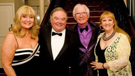 Patsy and Eddie Large with Syd and Sheree Little