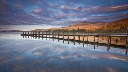 Coniston Reflections by David Blenkharn
