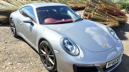 Porsche 911 ready to be taken for a spin