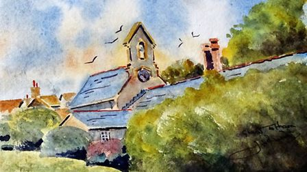 THE PEAPOD With much of the building hidden behind the manicured hedge, the inspiration was the Bel