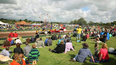 Tractor Pulling Great Eccleston Show