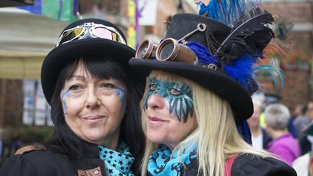 Where did you get that hat? Topping fun at the Bridport Hat Festival (Photo by Sheena O'Donoghue)