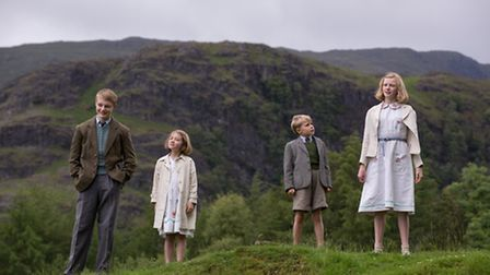 Swallows and Amazons - Four on the fellside above Coniston