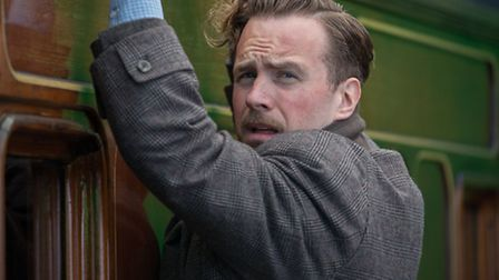 Rafe Spall trying to escape Russian spies