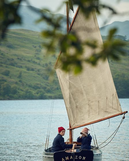 The Amazon on Coniston Water