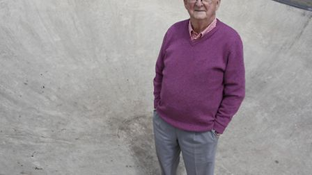 David Miller who is the official writer for the history of the Olympics since 1960. Picture: MARK B