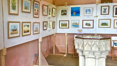 Eastcoast Artz exhibition will be on display at Thorpe Market Church