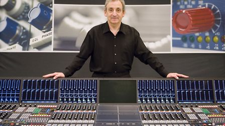Mark with one of his multi-award winning pieces of kit