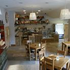 The cafe at the Garden Kitchen, Holden Clough Nursery