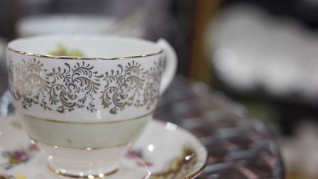 Bespoke china, and many other beautiful pieces, for table decorations at your wedding