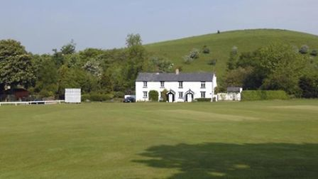 White Coppice cricket pitch by Terry Marsh