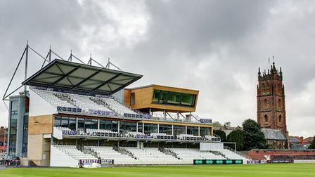 The new Somerset Pavilion at the Coopers Associates County Ground in Taunton