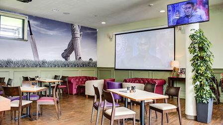 Stragglers Coffee House is located on the ground floor of the new Somerset Pavilion