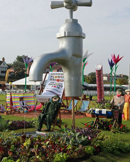 The North West Counties Allotment Association display