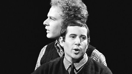 Simon & Garfunkel's strained relationship resulted in a break-up soon after the release of Bridge Ov