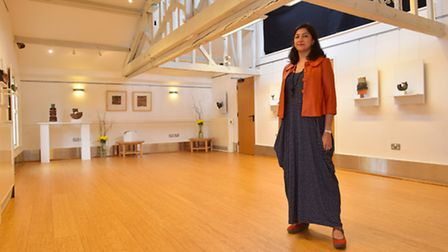 Bungay Fisher Theatre manager Laila France.
