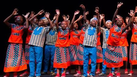 The Singing Children of Africa Tour will make its debut in Somerset October 4