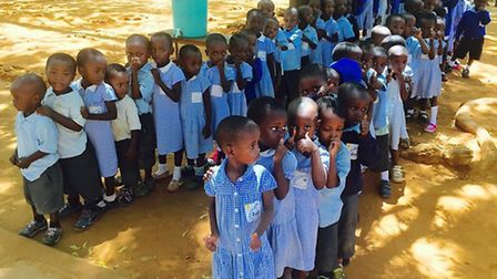 The Singing Children of Africa Tour helps to raise money for the charity 'Educate the Kids'