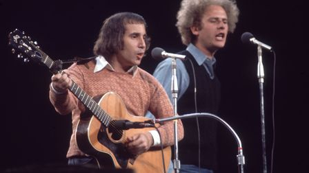 Simon & Garfunkel reunited to perform at a benefit for presidential candidate George McGovern in New