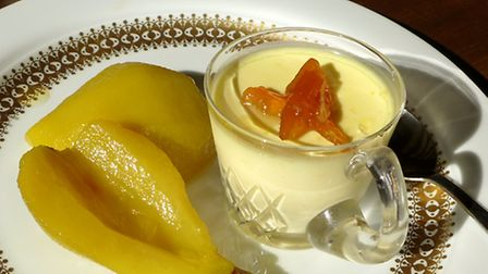 Garnish the possets with grated orange zest, or a small amount of Seville orange marmalade, and serv