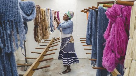 Creating the designs provides a living wage for the women