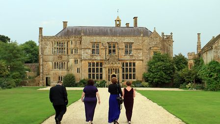 Guests arriving at Brympton House