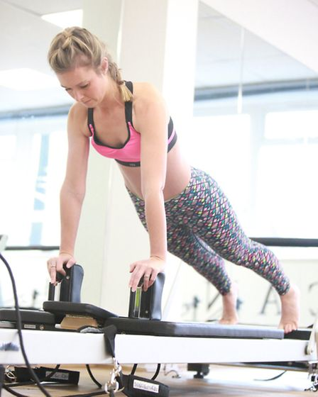At CONTOUR we give you a whole body workout, so as well as your core and your back; you will also be