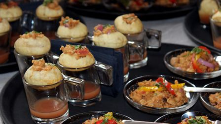 Amir Khan loves appetisers like these from Dhanak Deira when he is between fights