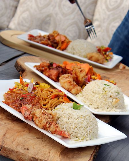 Dhanak Deira food is a fusion of different cuisines