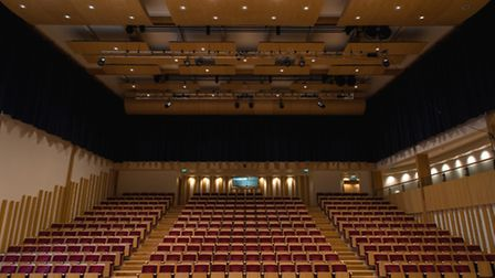 The 350-seat Johnson Hall at Millfield hosts world-class performers