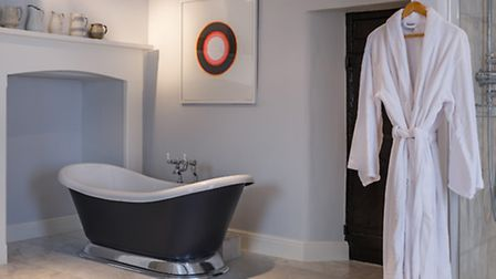 The bathroom of Bedroom One is absolutely stunning - and huge!