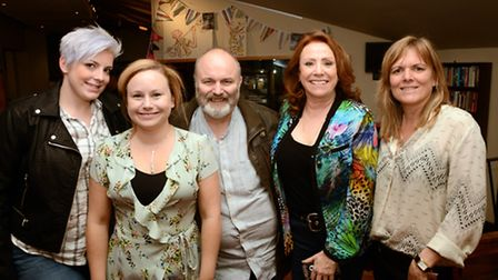Claire Leather, Dolly-Rose Campbell, Jim Cartwright, Melanie Hill and Debbie Oates