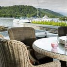 Guests can have barbecues on the terrace
