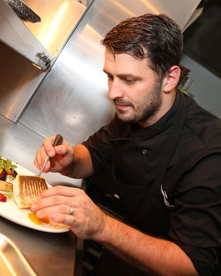 The Birds kitchen is producing some top class food such as roast seabass