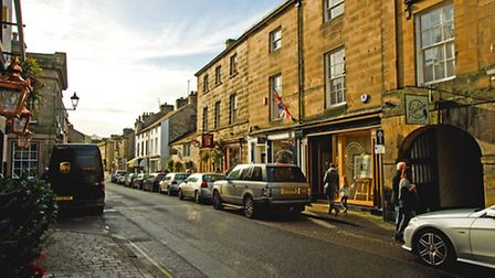 Kirkby Lonsdales high street is almost exclusively independent