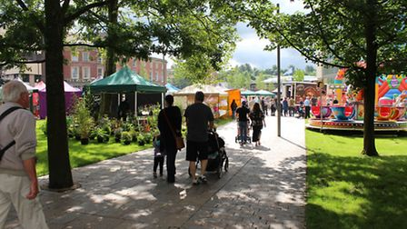 The centre of Blackburn has been transformed
