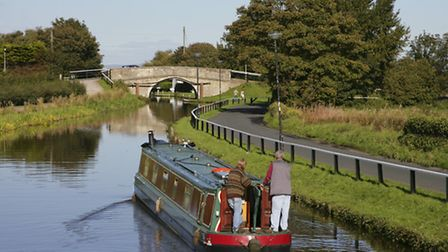 The Leeds/ Liverpool canal at Top Locks